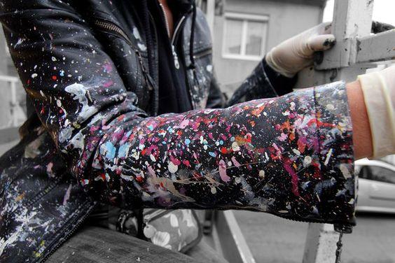 Inspirado por Pollock