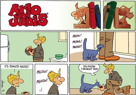 Arlo and janis on gocomics com newspaper comics pinterest