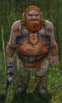 Dourhand Hunter  can be found wandering Rushock Bog in The Shire.