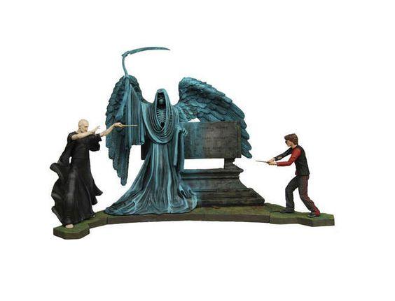 Pack 2 figuras Harry Potter y el Cáliz de fuego. 18cm. NECA