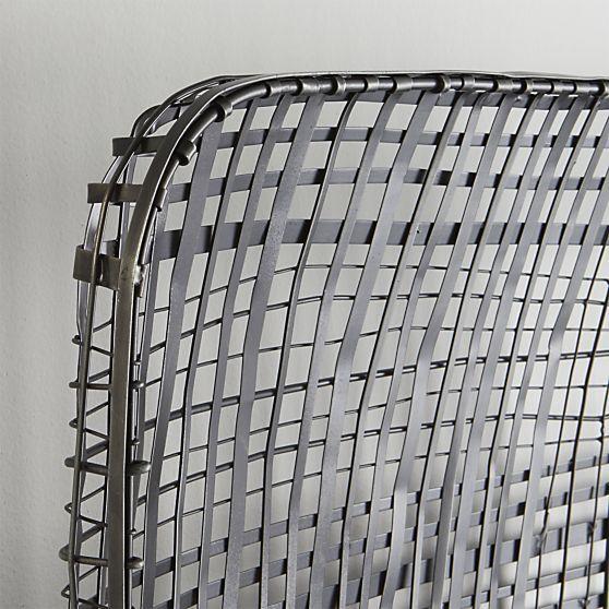 Tobacco Basket Wall Art  | Crate and Barrel