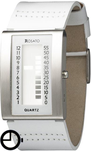Rosato Matrix Uranus R581 horloge | witte horloges! http://www.kish.nl/Rosato-Matrix-Uranus-wit/