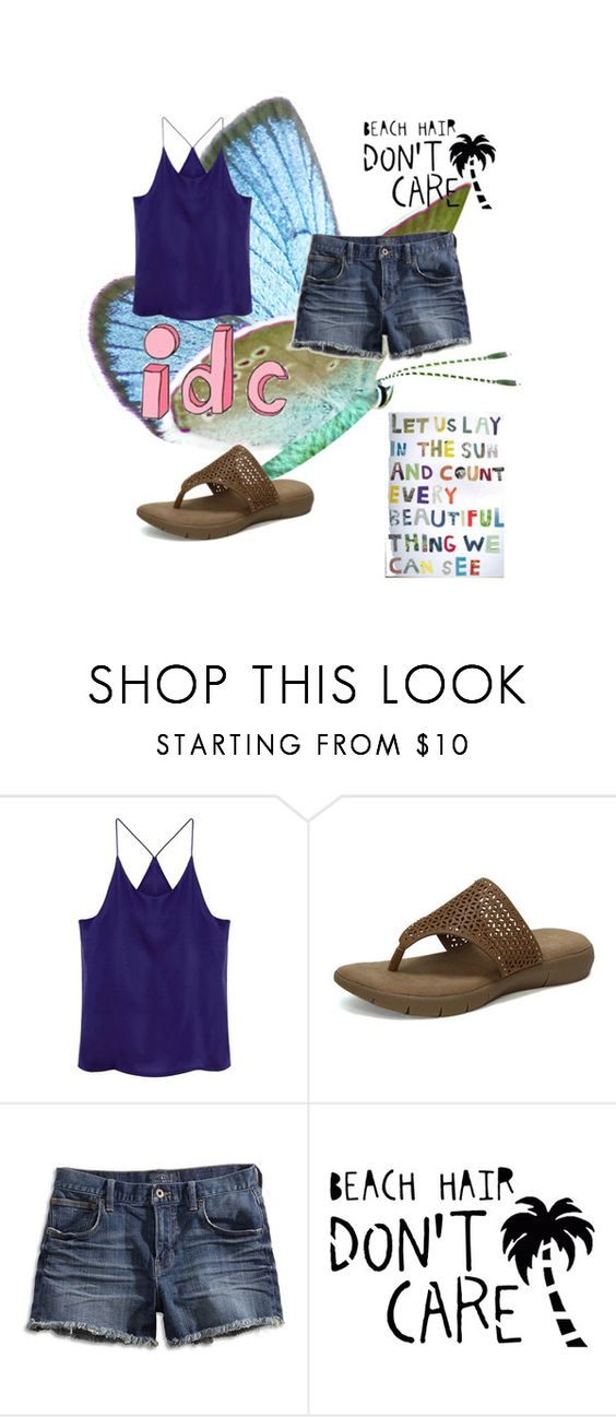 """When you can't be bothered"" by frizzynorse ❤ liked on Polyvore featuring Comfy Soles and Lucky Brand"