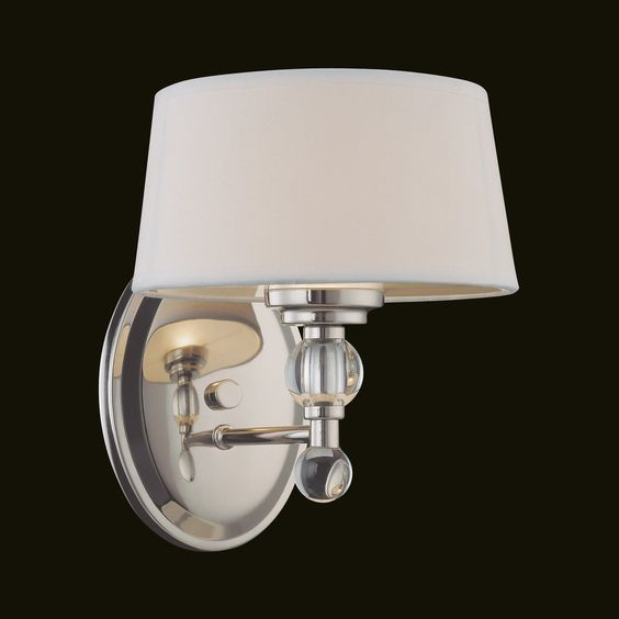 Savoy House 8-1041-1-109 Murren Wall Sconce, Polished Nickel