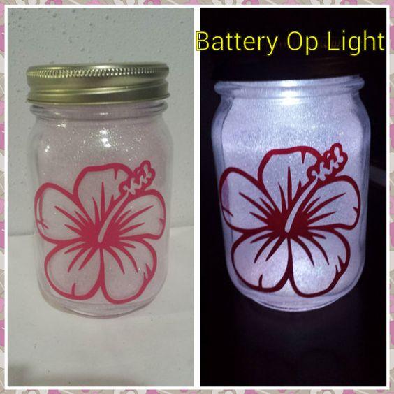 Hibiscus - Flower Decor - Christmas Light - Night Light - Hibiscus Decor - Gift - Hawaii - Flower Gift - Flowers - Pink Flower - Light