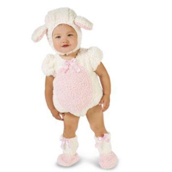 Baby+Pink+&+White+Lamb+Costume