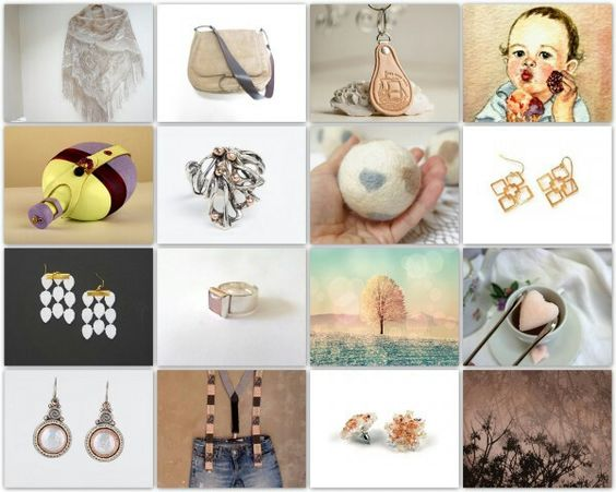 beautiful Etsy treasury~Sooo Creamy...