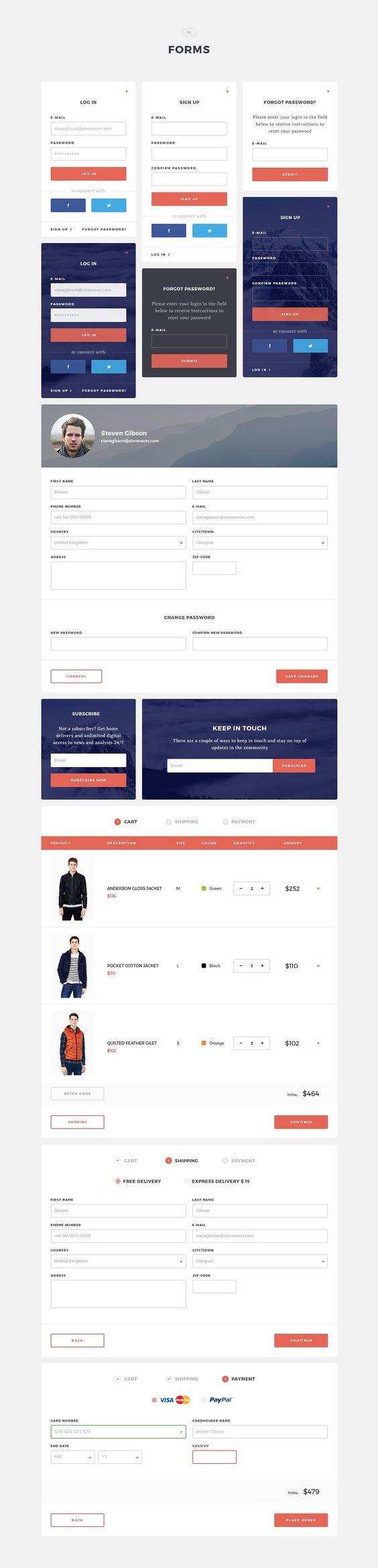 Arbuzz UI Kit by BlaeberryTeam on @creativemarket