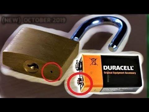 6 Ways To Open A Lock New 2020 Youtube In 2020 Diy Lock Lock Rainy Good Morning