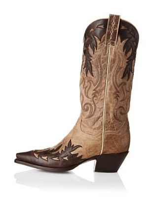 """Dan Post Women's 13"""" Gambler Boot (Bone/Chocolate) - Not that I """"need"""" another pair of boots...."""