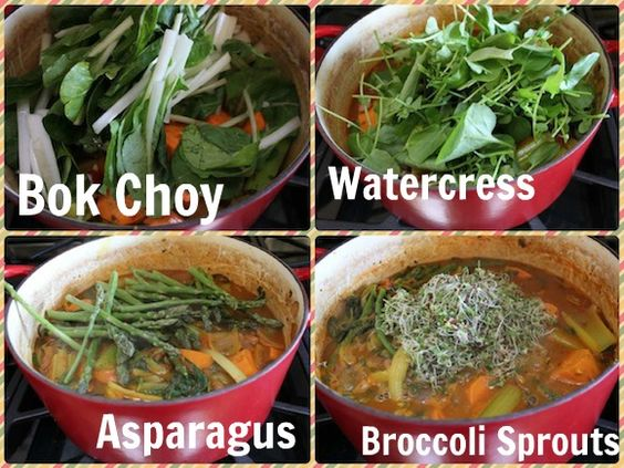 I took Dr. Fuhrman's Anti-Cancer soup to the next level with my Antioxidant Rich Soup.