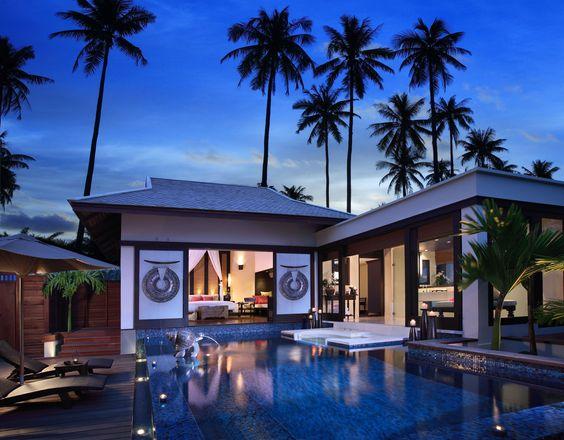 The private resort