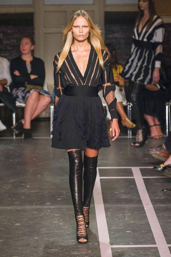 Model Story - Fashion Week Models 2015 - Harper's BAZAAR