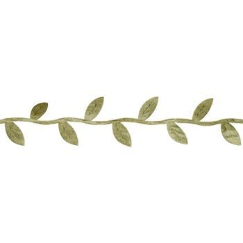 Olive Leaves Decorative Ribbon