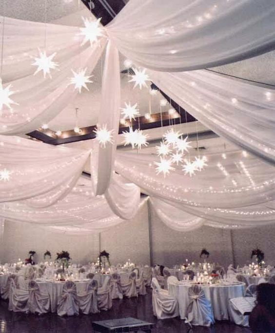 Night Wedding Ideas Decorations: A Starry Night Theme Wedding