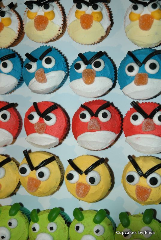 Cupcakes for kids children 39 s cupcakes cupcake ideas for Fun and easy cupcake decorating ideas