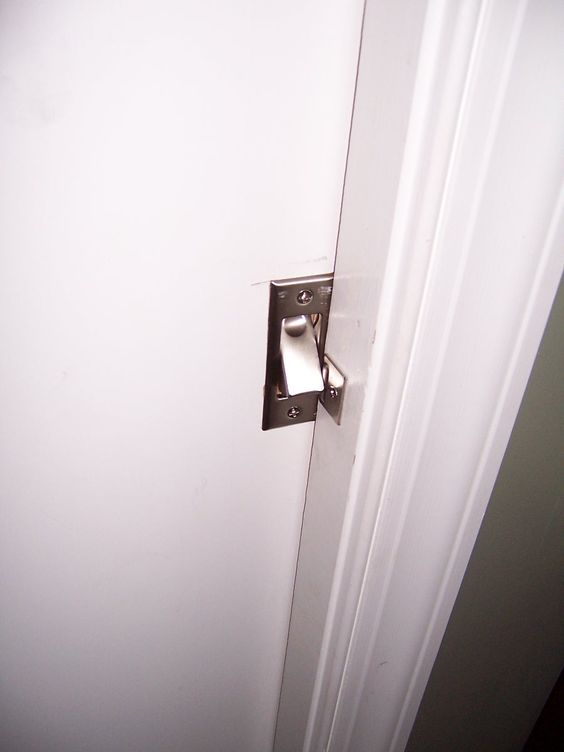 Pocket Doors Locks And Pockets On Pinterest