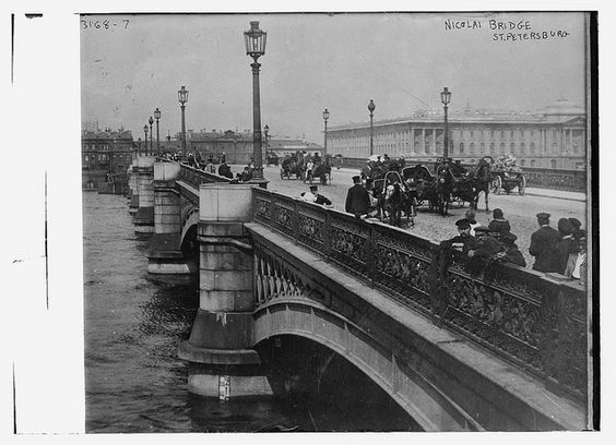 Nicolai Bridge, St. Petersburg (LOC) by The Library of Congress, via Flickr
