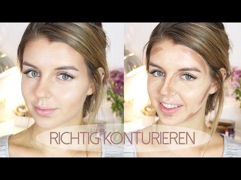Konturieren und Highlighten + VERLOSUNG   Lovethecosmetics - YouTube