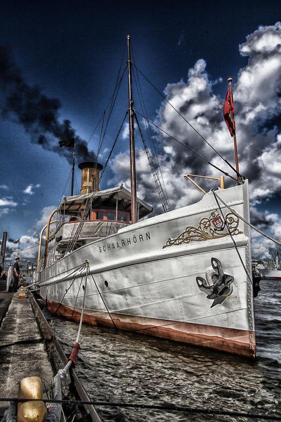 Dampfschiff Schaarhörn   Bildschönes Hamburg