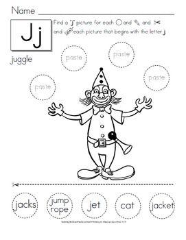 Cut and Paste Alphabet Activities - {Preschool to Second Grade ...