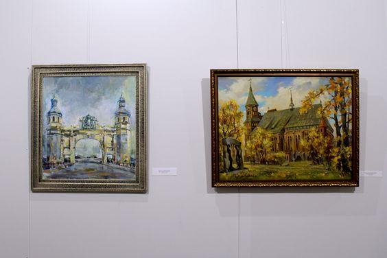 Работы с экспозиции выставки