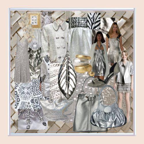 Fashion Mood Boards For Spring 2007 Moodboard Pinterest Grey Fashion Fashion And Grey