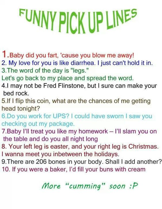 Funny dating lines