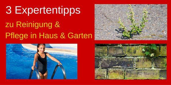 3 Expertentipps zu Reinigung & Pflege in Haus & Garten » Checkliste download