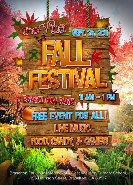 Fall Festival Booth Ideas | Fall Festival Invite Graphic | Flickr - Photo Sharing!