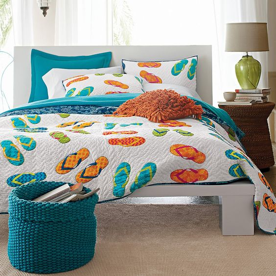 Flip Flop Bedding. 54 likes. Handmade Duvets and Pillows with coordinating patterns on each side. Flippable for multiple looks with each set. Perfect.