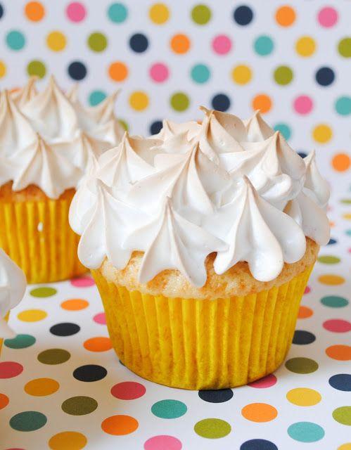 Cupcakes de limón y merengue 2.0