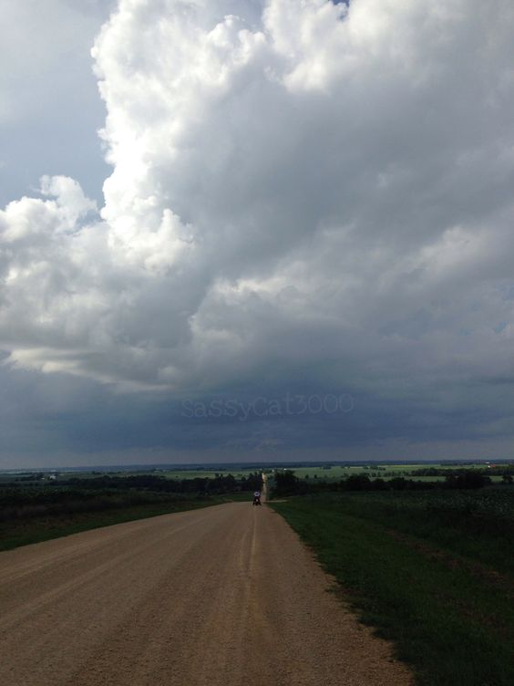 Went riding. Gravel road. Rode in the rain. Got lost. I ran out of fuel. #ridetolive #bikerproblems #livetoride