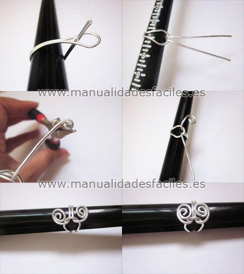 Tutorial para hacer anillos con hilo mágico