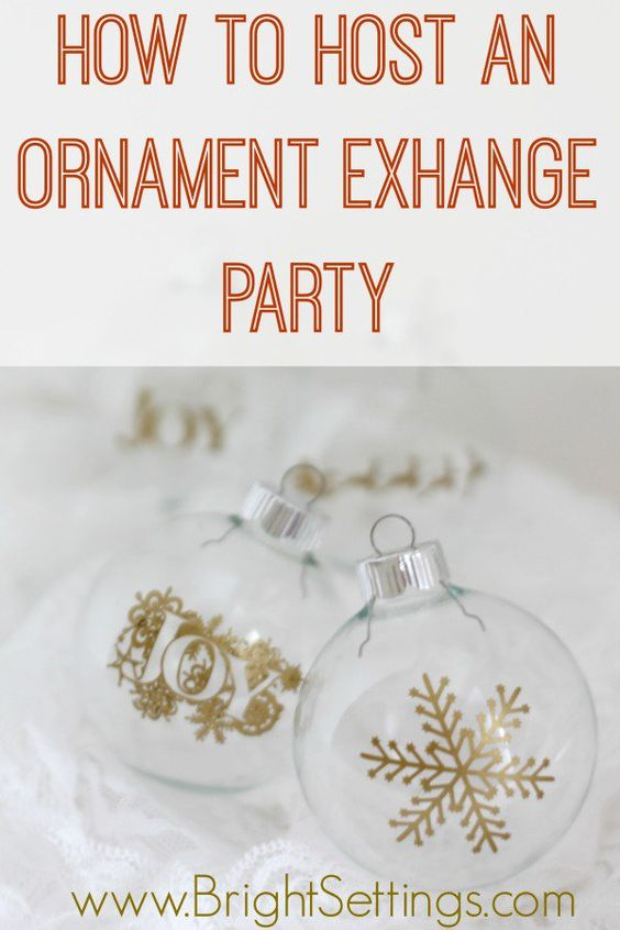 Host a DIY Christmas Gift Exchange Party  yahoocom