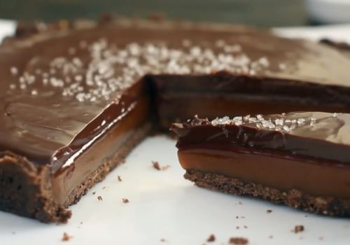 Chocolate Tutorial Salados caramelo Tarta Receta