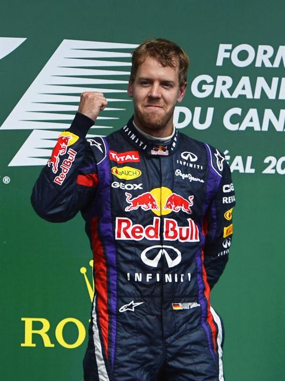 Sebastian Vettel hat es geschafft und zum ersten Mal in seiner Karriere den Großen Preis von Kanada gewonnen. Der Heppenheimer fuhr im Formel-1-Rennen von Montréal einen klaren Start-Ziel-Sieg ein und führt die WM-Wertung nun schon 36 Punkte vor dem Spanier Fernando Alonso an. (Foto: CJ Gunther/dpa)