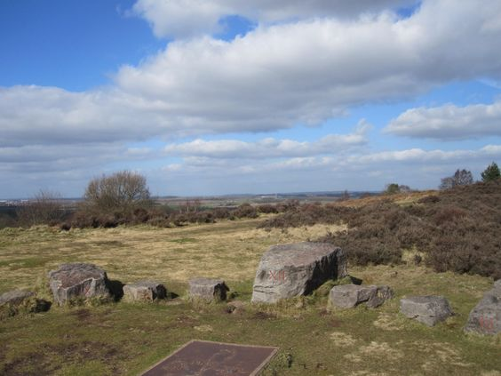 Sun dial Broc Hill Cannock Chase