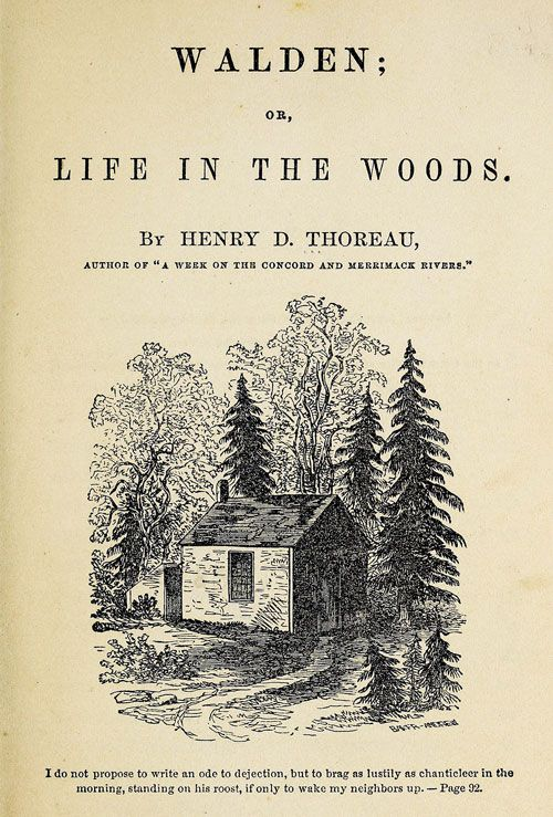 Tiny House In The Wilderness Sala Architects Henry David Thoreau Thoreau Henry David Thoreau Quotes