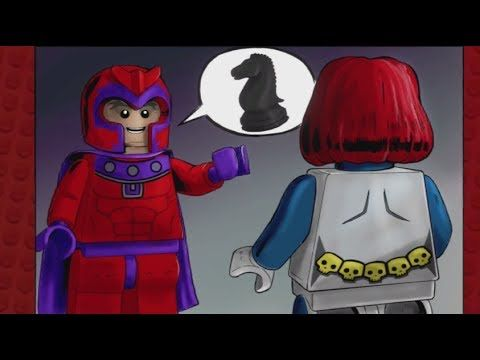 LEGO Marvel Superheroes - The Thrill Of Chess (Mysterio and Polaris Unlock Location) - YouTube