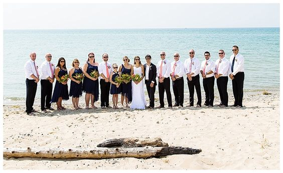 Point Betsie Beach Wedding | Rayan Anastor Photography | Frankfort MI Wedding Photographer