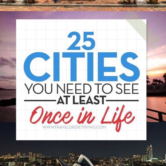 25 You Need TO See At Least Once In Your Life #Travel #Musely #Tip