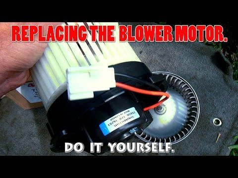 Ac Blower Motor And Ac Resistor Replacement Without Disassemble The Dashboard Youtube Blowers Motor Resistors