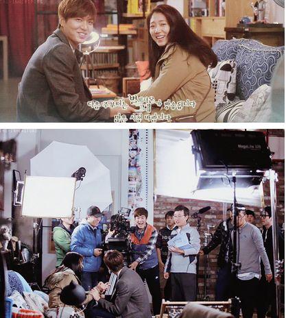 "Lee Min Ho and Park Shin Hye ♡ #Kdrama // The ""HEIRS"" BTS"
