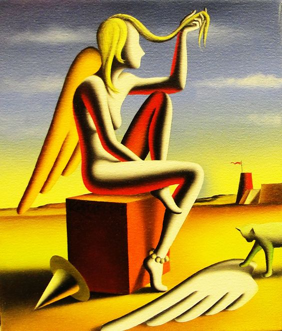 MARK KOSTABI - SHEDDING MY INNOCENCE Size: 10 x 12 INCHES Year: 2013 Medium: OIL ON CANVAS Edition: ORIGINAL Artwork is in excellent condition. Certificate of Authenticity included. Additional images available upon request. Please contact Ken@Gallart.com - (305)932-6166 for pricing.