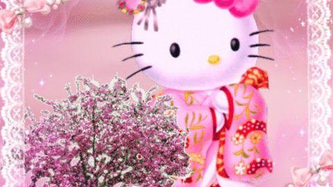 Gambar Hello Kitty Bergerak