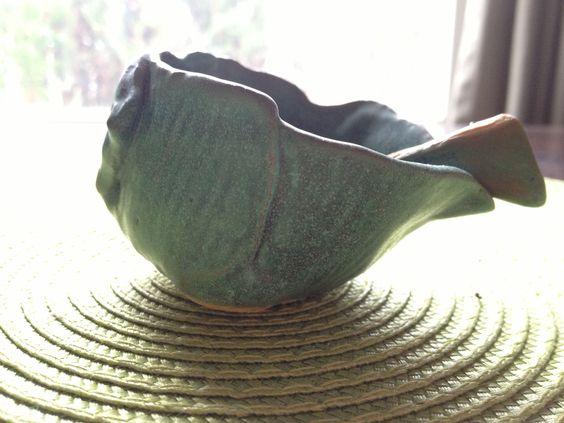 organic salt bowl side view