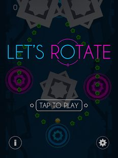 Experience a new world of rotation. Surviving as long as you can while collecting little dots. You also need to avoid dangerous hazards like saw blades, as well as not hitting the edge of the screen. Very Very Fast and Dangerous!