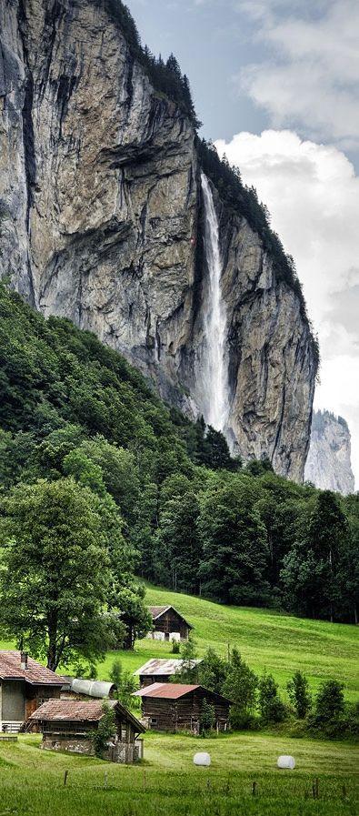 Lauterbrunnen, Suíça.: