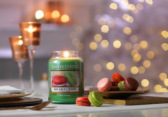 Yankee Candle, créée il y a 45 ans aux Etats-Unis, est La référence des bougies parfumées. Yankee Jarre L - Macarons Treats